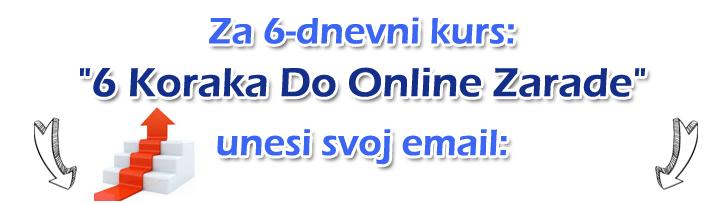 6 koraka do online zarade