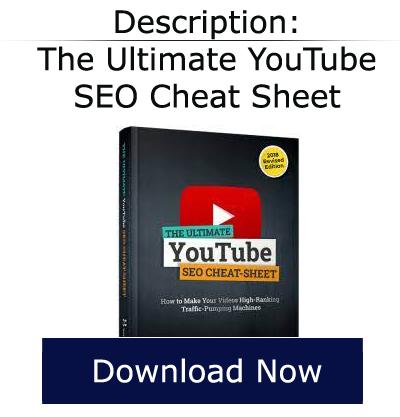 ultimate youtube seo cheat sheet